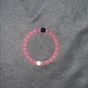 Pink breast-cancer lokai